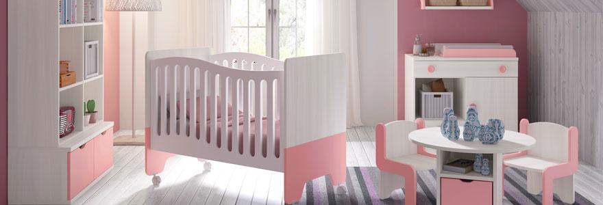 chambre de votre bébé fille