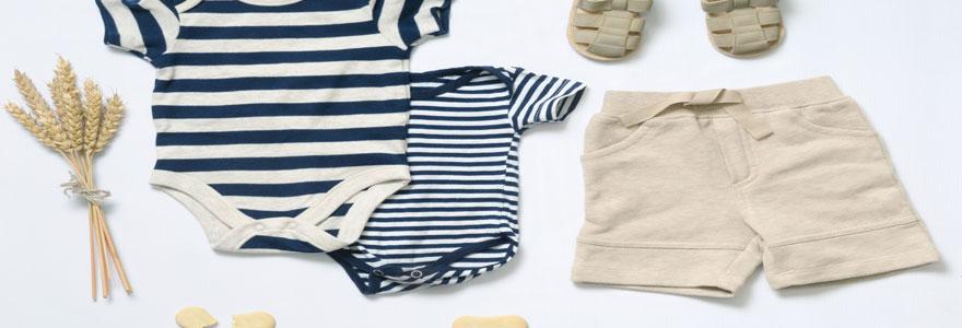 Achat de vêtements pour bébé garçon